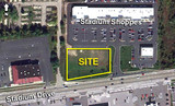 BUILD TO SUIT SITE WITHIN BUSY RETAIL CENTER