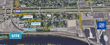 Fenced & Paved 1.4-Acre Industrial Site Near I-496